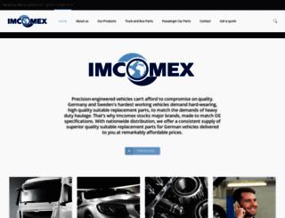 imcomex.co.za screenshot