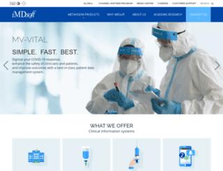 imd-soft.com screenshot
