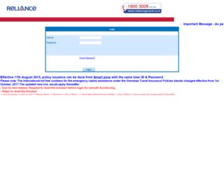 imd.reliancegeneral.co.in screenshot