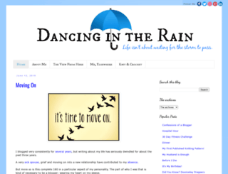 imdancingintherain.com screenshot
