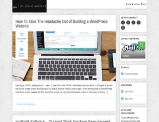imdavidwalters.com screenshot