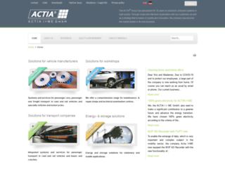 ime-actia.com screenshot
