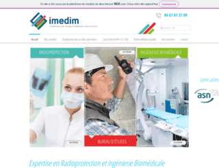 imedim.fr screenshot