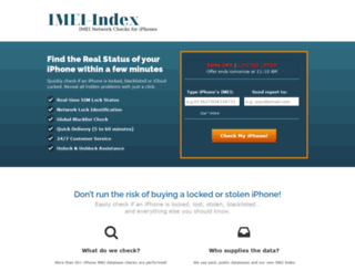 imei-index.com screenshot