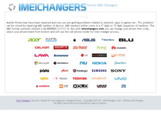 imeichangers.com screenshot