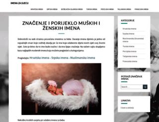 imenazadjecu.com screenshot