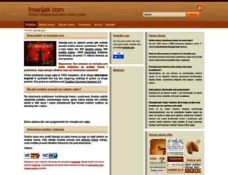 imenjak.com screenshot