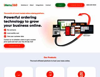 imenu360.com screenshot