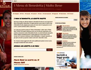 imenudibenedetta.blogspot.com screenshot
