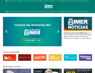 imer.gob.mx screenshot
