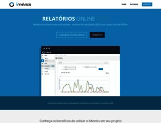 imetrics.com.br screenshot