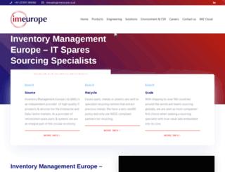 imeurope.co.uk screenshot
