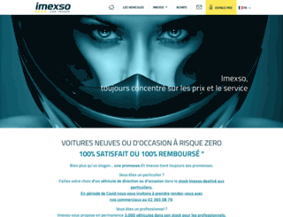 imexso.com screenshot