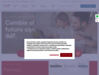 imf-formacion.com screenshot