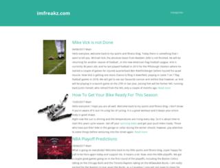 imfreakz.com screenshot