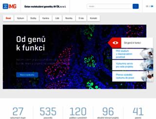 img.cas.cz screenshot