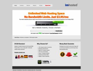 imhosted.com screenshot