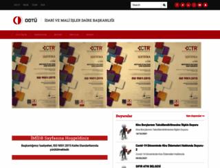 imidb.metu.edu.tr screenshot