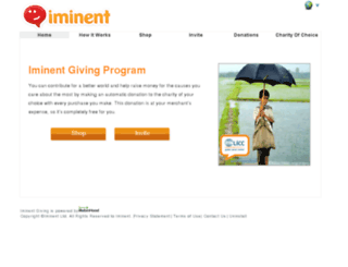 iminent.donation-tools.org screenshot