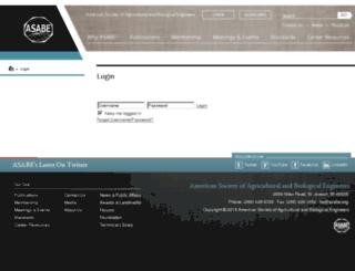 imis.asabe.org screenshot