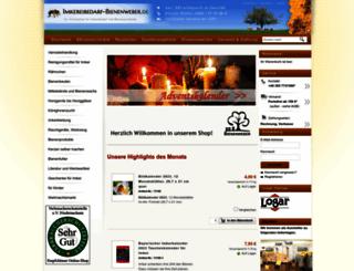imkereibedarf-bienenweber.de screenshot