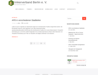 imkerverband-berlin.de screenshot