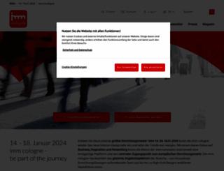 imm-cologne.de screenshot
