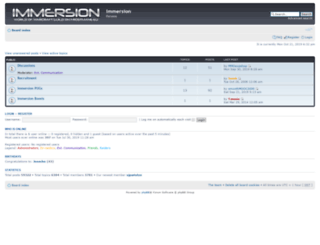 immersion-guild.com screenshot