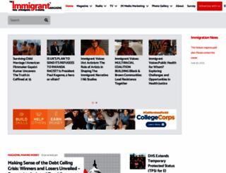 immigrantmagazine.com screenshot