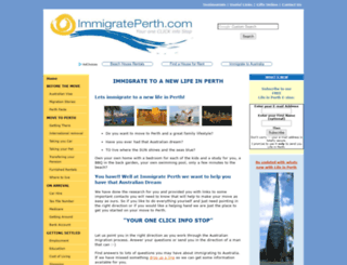 immigrate-to-a-new-life-in-perth.com screenshot
