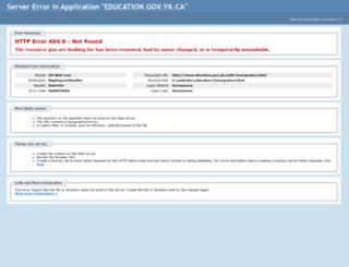 immigration.gov.yk.ca screenshot