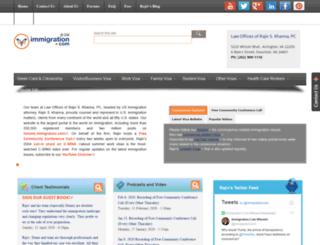 immigrationportal.com screenshot