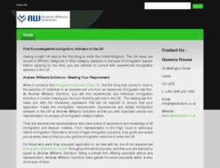 immigrationservicesuk.devhub.com screenshot