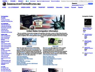 immigrationunitedstates.org screenshot