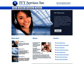 immigrationvisaforms.com screenshot