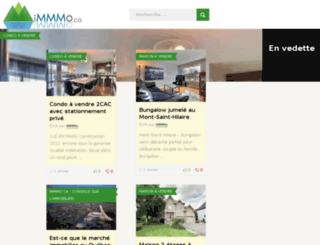 immmo.ca screenshot