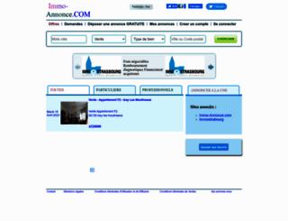 immo-annonce.com screenshot