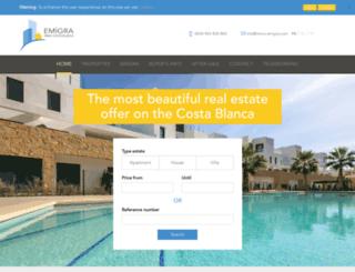 immo-emigra.com screenshot