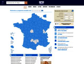immo-neuf.lavieimmo.com screenshot