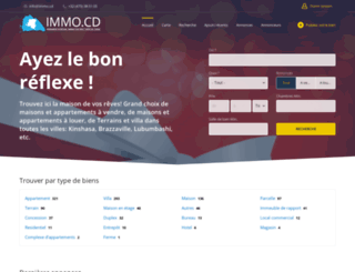 immo.cd screenshot