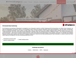 immo.infranken.de screenshot