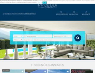 immo.nicematin.com screenshot