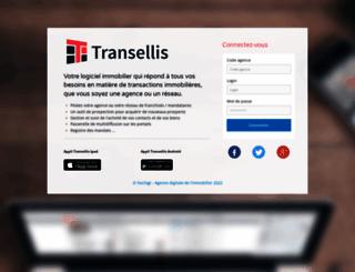 immo.transellis.com screenshot
