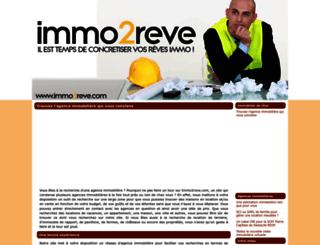 immo2reve.com screenshot