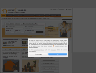 immo4trans.de screenshot