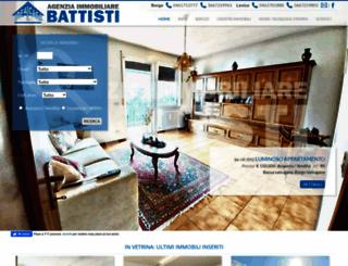 immobiliarebattisti.it screenshot