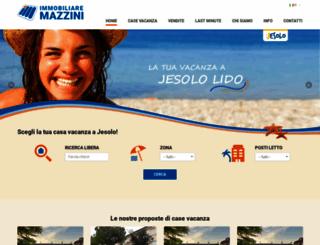 immobiliaremazzini.com screenshot