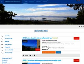 immobiliaretrasimeno.com screenshot