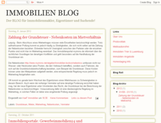 immobilien-freundlich.blogspot.com screenshot