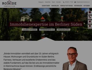 immobilien-kleinmachnow.de screenshot